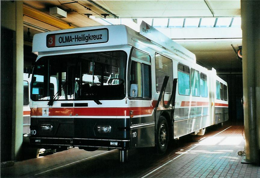 St gallerbus vbsg st gallen fotos 20 autobusse for Depot st gallen