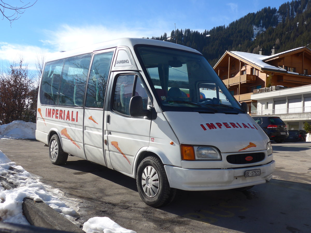 (178'226) - Imperiali, Oberwil b.B. - Nr. 12/BE 17'521 - Ford am 29. Januar 2017 in Adelboden, Landstrasse