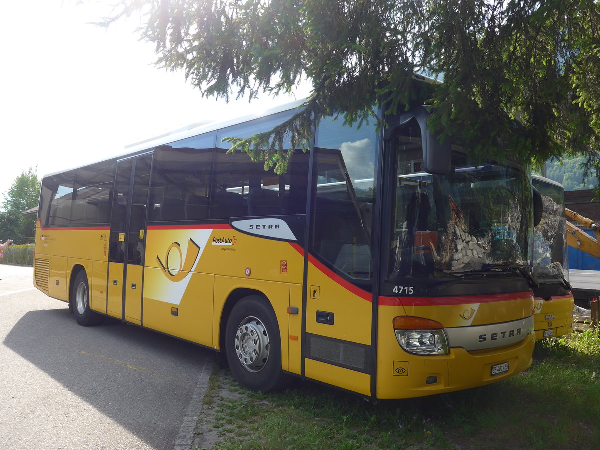 (180'763) - AVG Meiringen - Nr. 65/BE 401'465 - Setra am 24. Mai 2017 in Interlaken, Postgarage