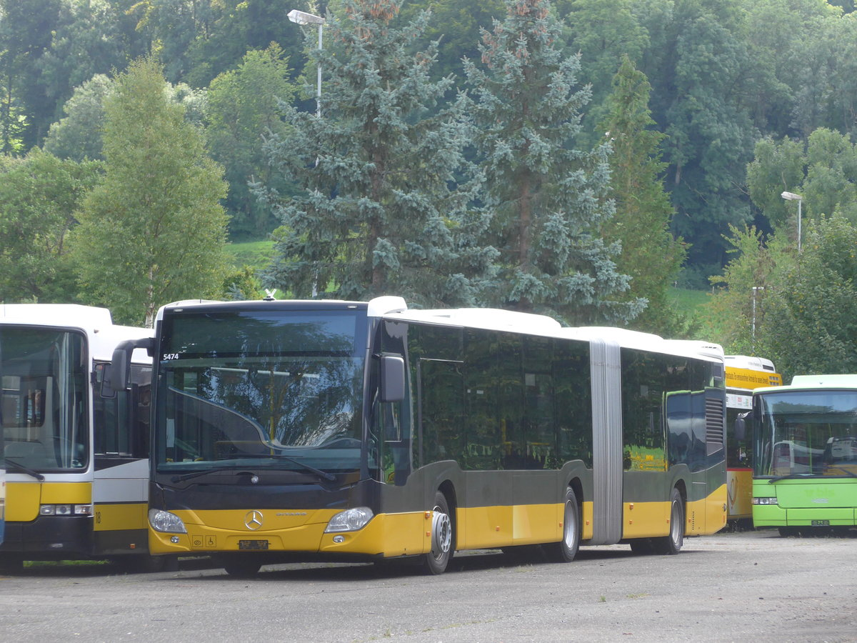 (183'756) - PostAuto Bern - Nr. 634 - Mercedes am 20. August 2017 in Dübendorf, EvoBus