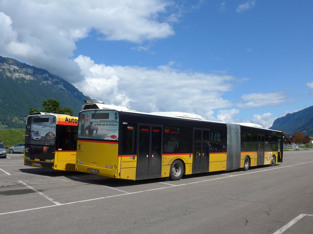 (184'583) - PostAuto Bern - Nr. 684/BE 813'684 - Solaris am 3. September 2017 in Interlaken, Flugplatz