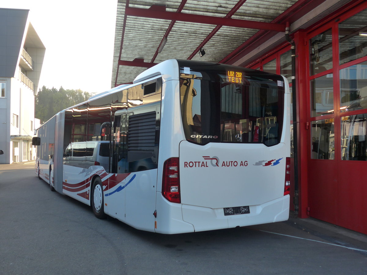 (186'228) - ARAG Ruswil - Nr. 50 - Mercedes am 3. November 2017 in Kloten, EvoBus