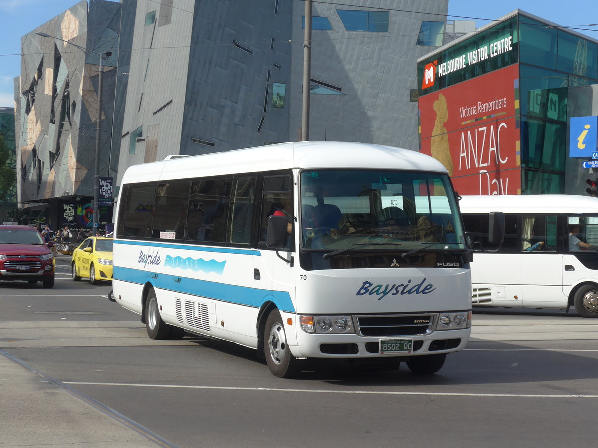 (190'399) - Bayside, Moorabbin - Nr. 70/BS02 QC - Mitsubishi am 19. April 2018 in Melbourne