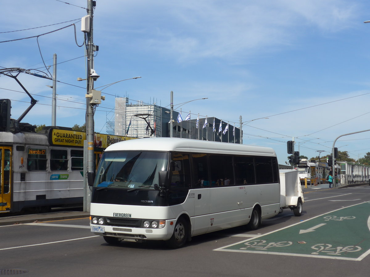 (190'402) - Evergreen - 1880 AC - Mitsubishi am 19. April 2018 in Melbourne