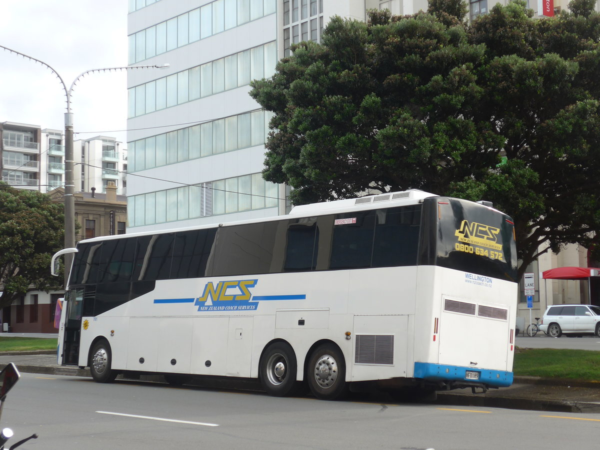 (191'763) - NCS Wellington - Nr. 761/HFD109 - Scania/PMC (ex North Harbour Motors, Greenhithe; ex Shaws, Takanini Nr. 71; ex Australien) am 27. April 2018 in Wellington
