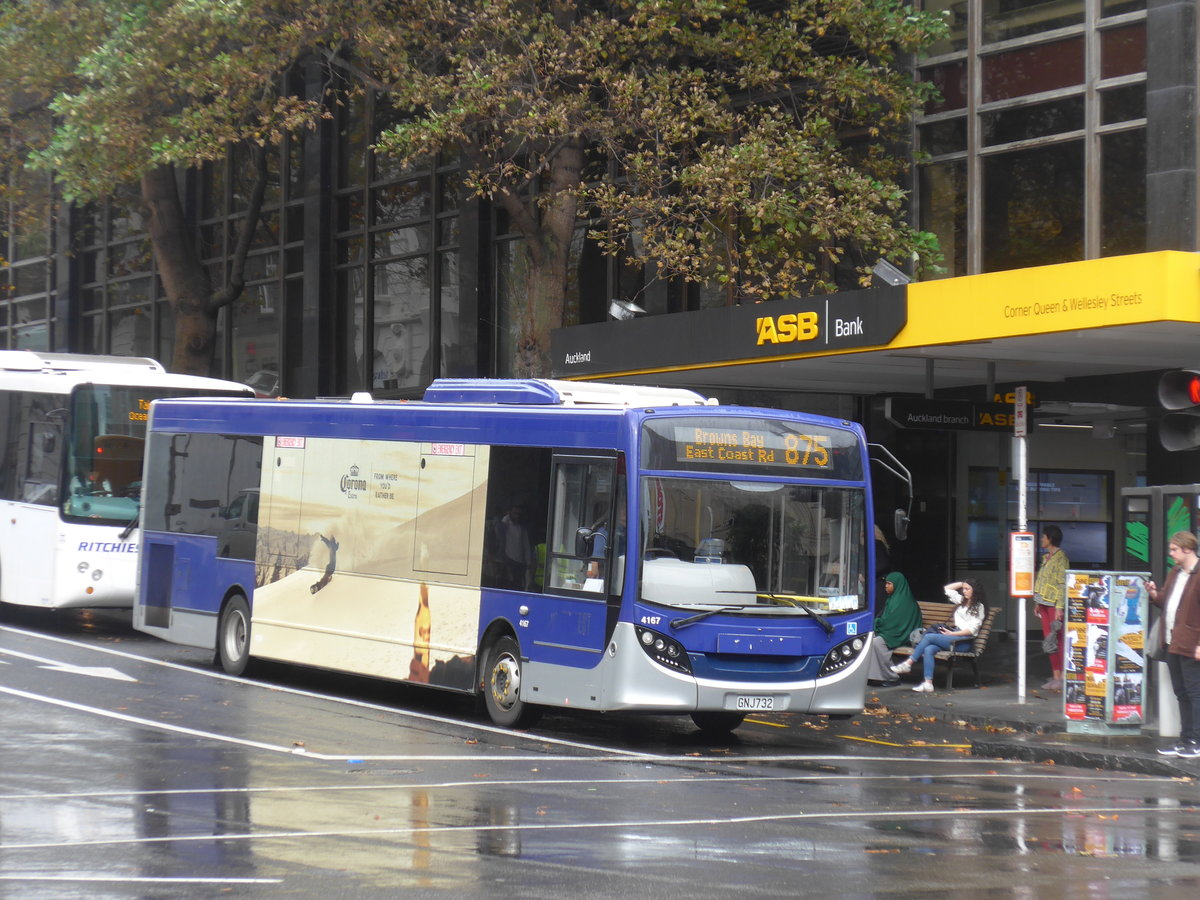 (192'083) - Metrolink, Auckland - Nr. 4167/GNJ732 - Alexander Dennis/KiwiBus am 30. April 2018 in Auckland