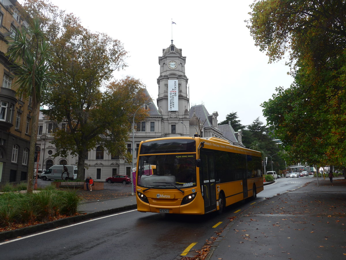 (192'109) - AT Metro, Auckland - Nr. 4307/HEB253 - Alexander Dennis/KiwiBus am 30. April 2018 in Auckland