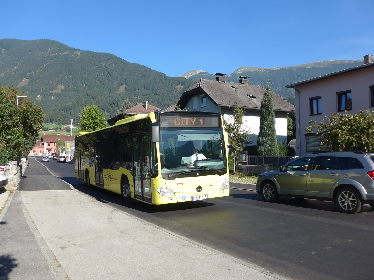 (196'915) - Ledermair, Schwaz - SZ 612 ZP - Mercedes am 12. September 2018 in Schwaz, Bahnhofstrasse
