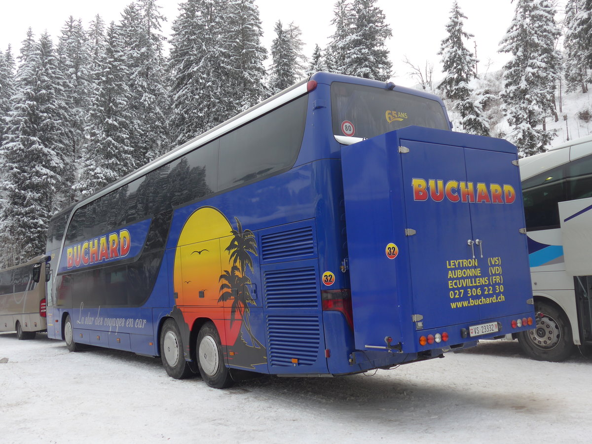 (200'740) - Buchard, Leytron - Nr. 32/VS 23'332 - Setra am 12. Januar 2019 in Adelboden, ASB