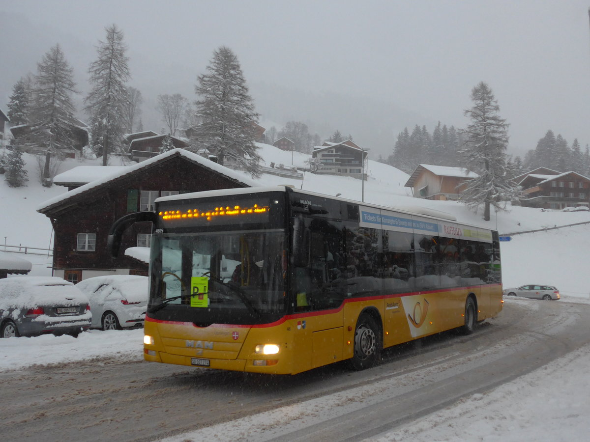 (201'036) - Wyss, Boningen - Nr. 46/SO 107'274 - MAN am 13. Januar 2019 in Adelboden, Oey
