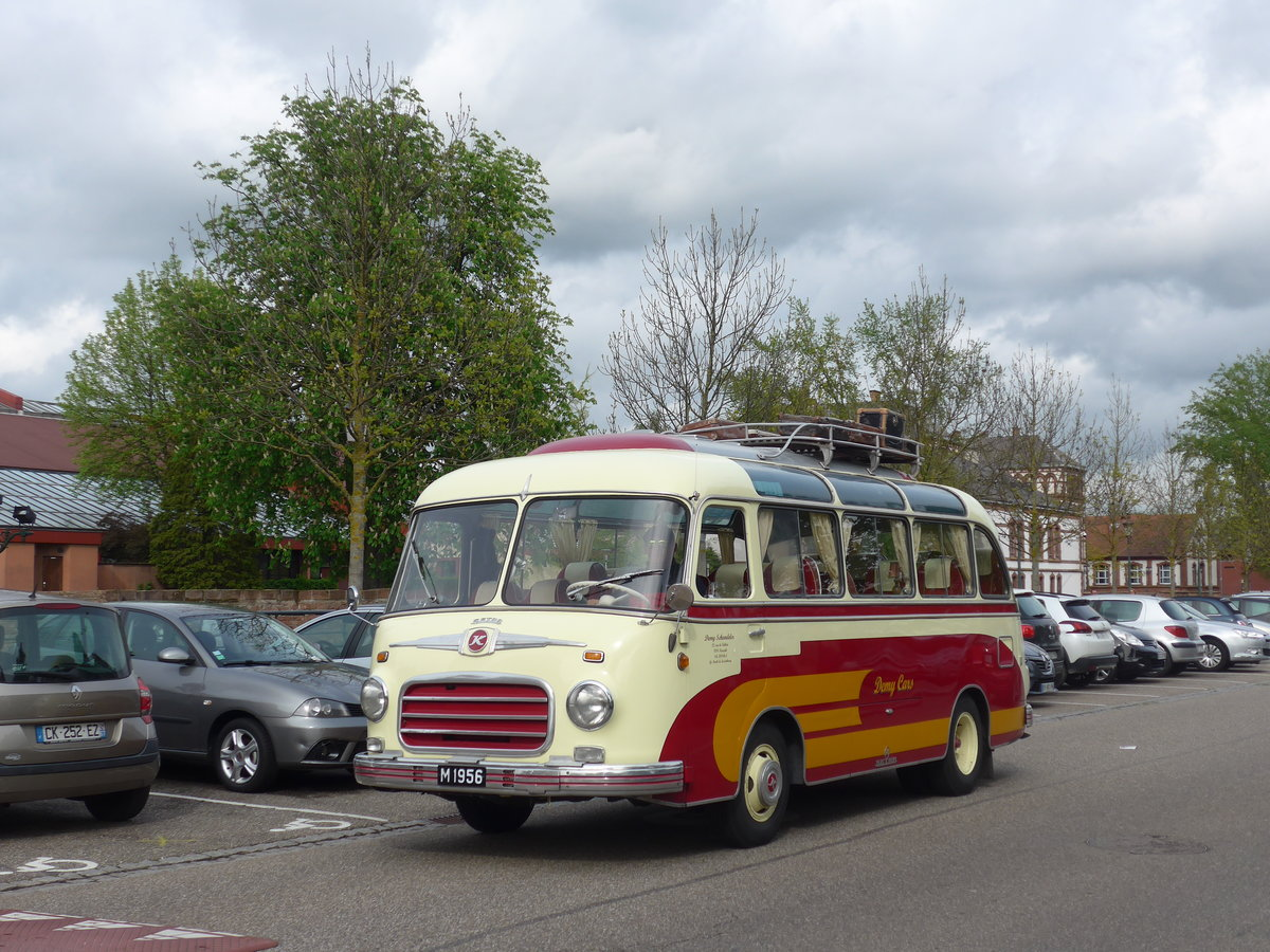 (204'047) - Aus Luxemburg: Demy Cars, Keispelt - M 1956 - Setra am 26. April 2019 in Haguenau, Parkplatz