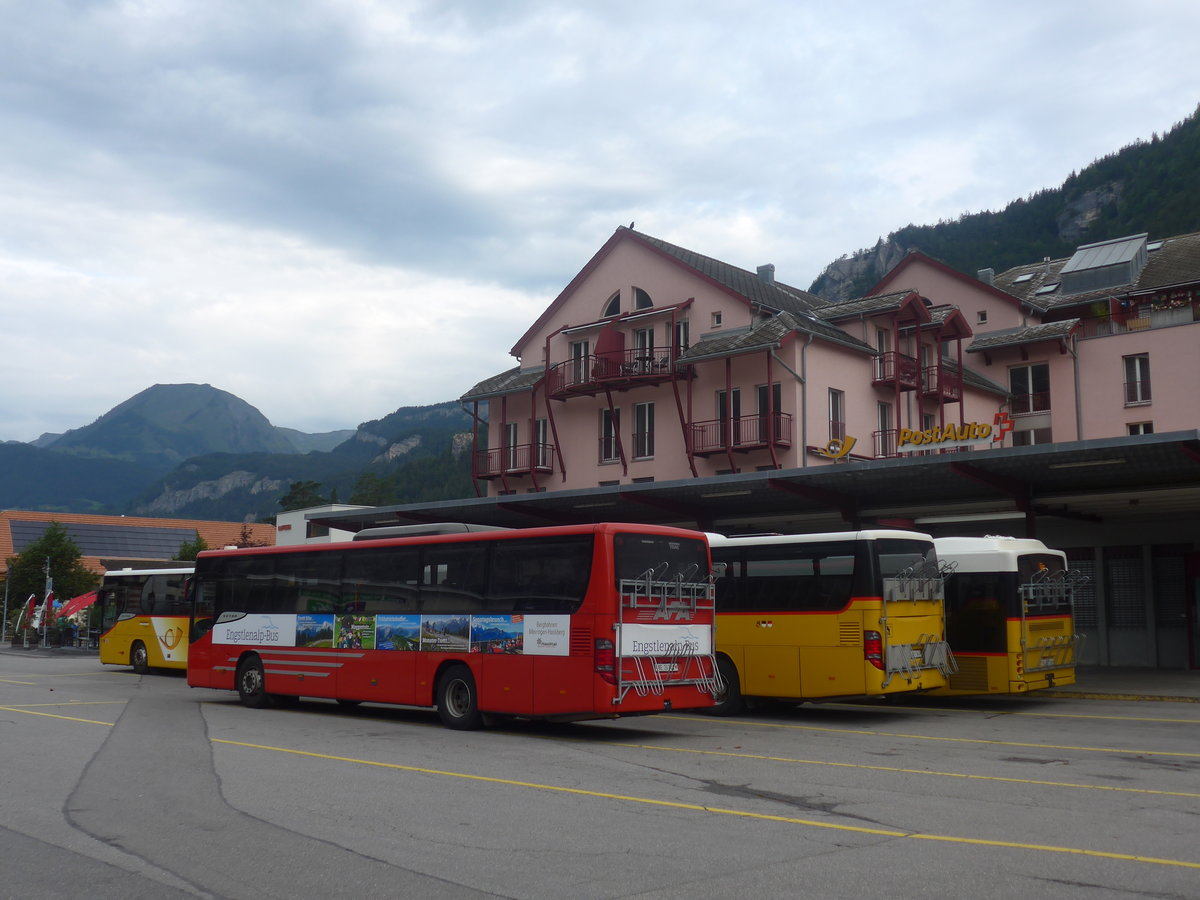 (209'182) - AFA Adelboden - Nr. 24/BE 26'701 - Setra am 1. September 2019 in Meiringen, Postautostation (Einsatz PostAuto für Engstlenalp-Bus)