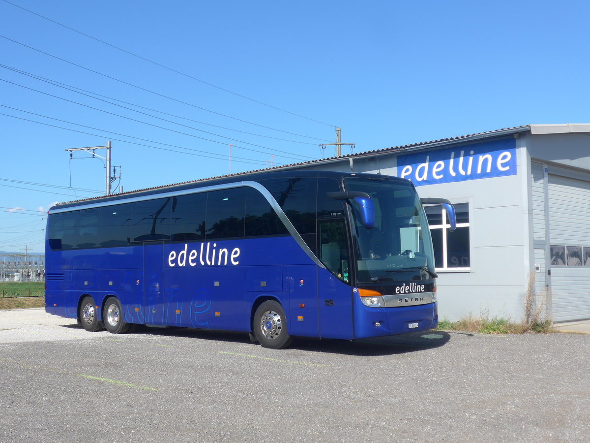 (209'664) - Edelline, Liebefeld - Nr. 54/BE 853'154 - Setra am 15. September 2019 in Kerzers, Garage