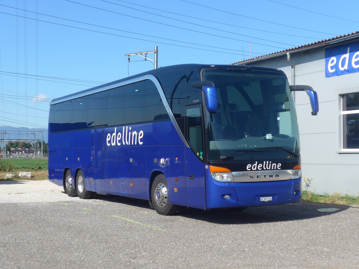 (209'665) - Edelline, Liebefeld - Nr. 54/BE 853'154 - Setra am 15. September 2019 in Kerzers, Garage
