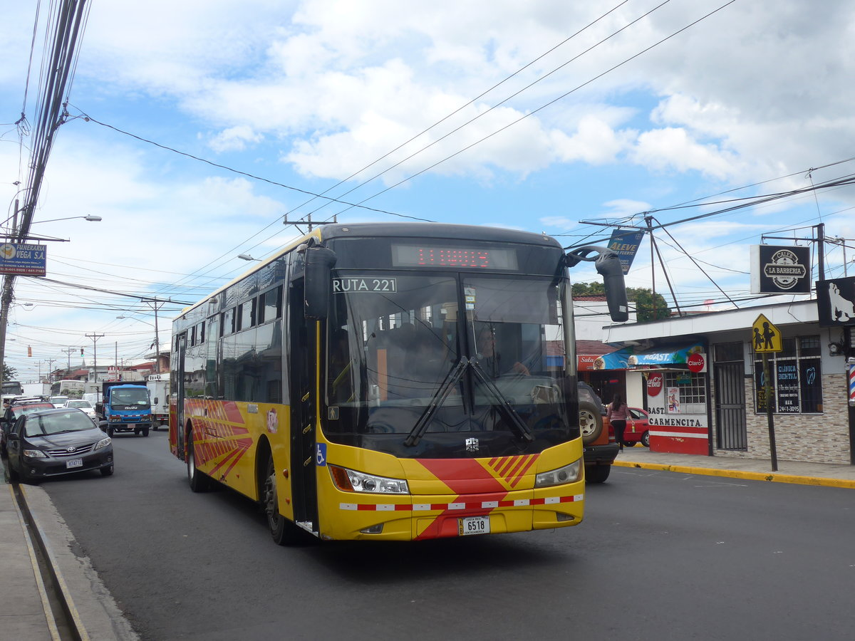 (211'091) - ??? - 6518 - Zhongtong am 13. November 2019 in Alajuela