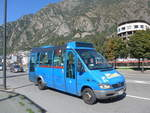 (185'480) - Hispano Andorrana, Andorra la Vella - H6783 - Mercedes am 28. September 2017 in Andorra la Vella