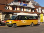 (201'740) - PostAuto Bern - BE 477'965 - Mercedes am 18. Februar 2019 beim Bahnhof Interlaken Ost
