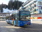 (223'228) - Pfosi, Arosa - Nr. 12/GR 180'112 - Neoplan (ex Nr. 2) am 2. Januar 2021 in Arosa, Post