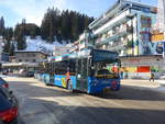 (223'234) - Pfosi, Arosa - Nr. 13/GR 180'118 - Neoplan (ex Nr. 8) am 2. Januar 2021 in Arosa, Post