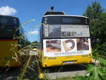 (218'335) - PostAuto Nordschweiz - BL 205'701 - Solaris am 4. Juli 2020 in Gelterkinden, Garage