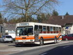 (190'075) - Wegmüller, Münsingen - BE 399'675 - FBW/R&J (ex Bamert, Wollerau) am 7. April 2018 in Kernenried, Gasthof Löwen