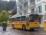 (197'815) - Schmid, Thörishaus - BE 26'206 - Saurer/Tüscher (ex P 24'244) am 16. September 2018 in Rosenlaui, Hotel