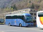(169'856) - Aus Slowenien: Sintrako, Grosuplje - LJ MI-979 - Volvo/Hispano am 11. April 2016 beim Bahnhof Interlaken Ost