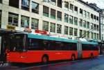 NAW/345556/123225---vb-biel---nr (123'225) - VB Biel - Nr. 88 - NAW/Hess Gelenktrolleybus am 23. Dezember 2009 in Biel, Guisanplatz