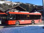 AFA Adelboden/599909/188088---afa-adelboden---nr (188'088) - AFA Adelboden - Nr. 56/BE 611'030 - Scania/Hess am 28. Januar 2018 beim Bahnhof Lenk