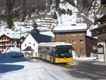 (214'759) - PostAuto Wallis - VS 32'092 - Scania/Hess (ex In Albon, Visp) am 22. Februar 2020 in Oberwald, Dorfstrasse