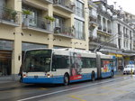 (170'159) - VMCV Clarens - Nr. 17 - Van Hool Gelenktrolleybus am 18. April 2016 in Montreux, Escaliers de la Gare