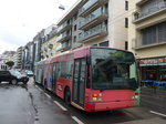 (170'160) - VMCV Clarens - Nr. 4 - Van Hool Gelenktrolleybus am 18. April 2016 in Montreux, Escaliers de la Gare