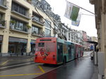 (170'161) - VMCV Clarens - Nr. 4 - Van Hool Gelenktrolleybus am 18. April 2016 in Montreux, Escaliers de la Gare