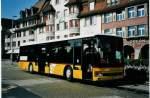Brugg/282976/080029---postauto-aargau---nr (080'029) - PostAuto Aargau - Nr. 12/AG 428'671 - Setra (ex P 25'643) am 28. August 2005 beim Bahnhof Brugg