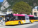 (209'865) - PostAuto Bern - BE 610'537 - Solaris am 29. September 2019 beim Bahnhof Interlaken West
