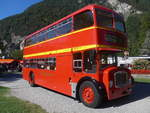 (209'873) - Londonbus, Holziken - Lodekka (ex Londonbus) am 29. September 2019 in Interlaken, Höhematte