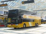 (208'671) - PostAuto Graubünden - GR 170'401 - Van Hool am 11. August 2019 in Chur, Postautostation