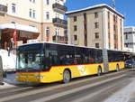 davos/601994/188509---postauto-graubuenden---gr (188'509) - PostAuto Graubünden - GR 102'356 - Mercedes am 13. Februar 2018 beim Bahnhof Davos Dorf