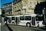 Lausanne/286800/081906---tl-lausanne---nr (081'906) - TL Lausanne - Nr. 721 - FBW/Hess Trolleybus am 18. Dezember 2005 in Lausanne, Bel-Air