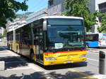 (208'427) - PostAuto Wallis - Nr. 10/VS 241'995 - Mercedes am 4. August 2019 beim Bahnhof Vevey